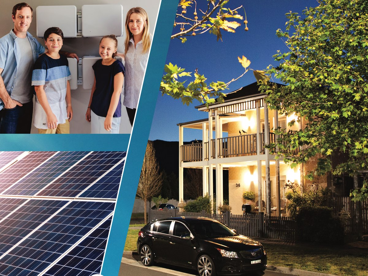 The cover of the NSW Home Solar Battery Guide