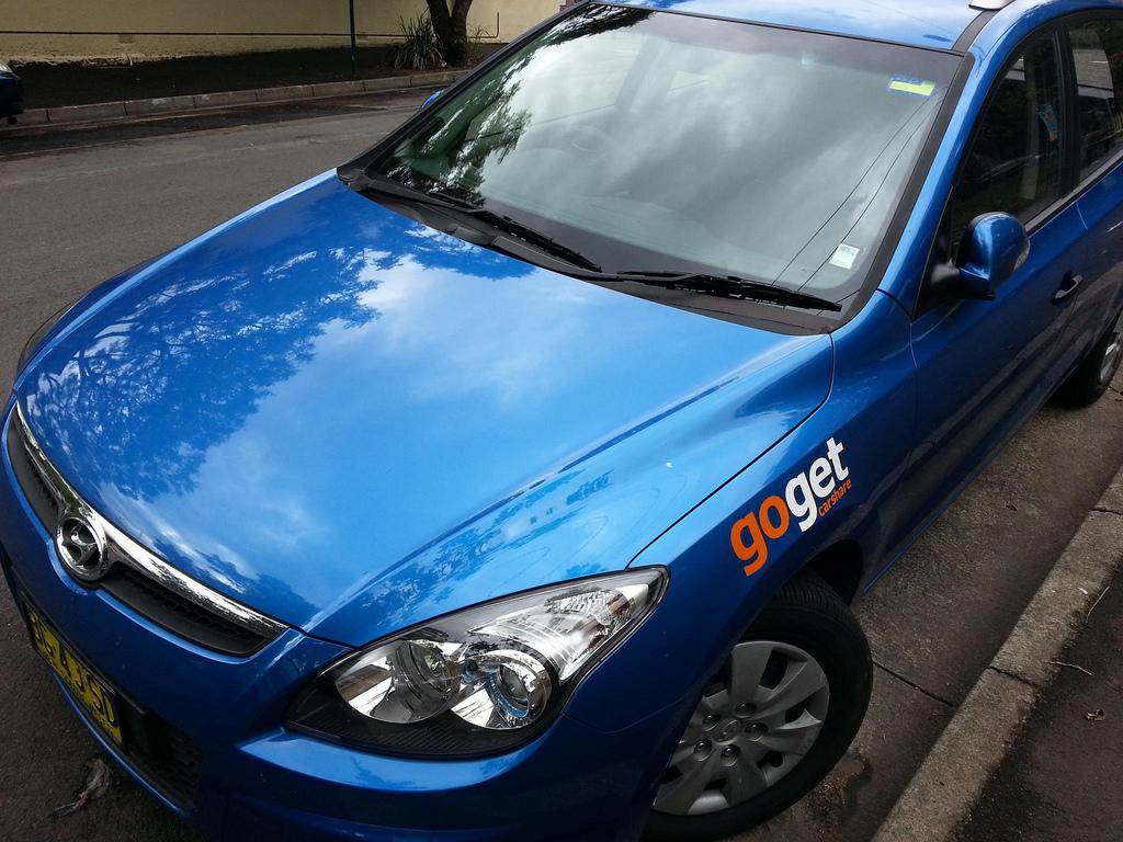 GoGet CarShare car.  Image: neeravbhatt @ Flickr http://www.flickr.com/photos/neeravbhatt/8653599067/