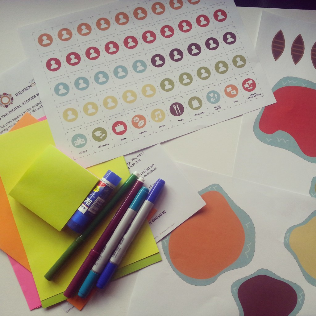 An example pack sent to participants containing activity cards and other materials. © Natalie Rowland