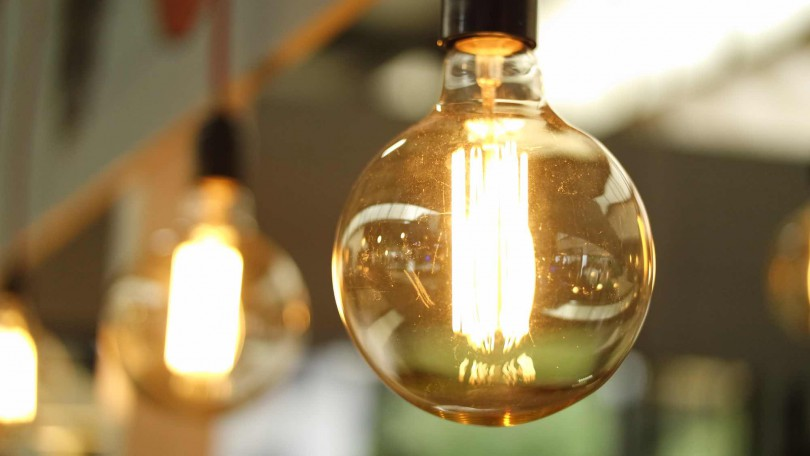 Industrial style light bulbs